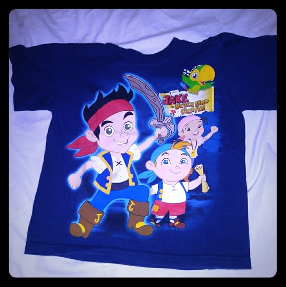 Other - Jake and the neverland the pirate t shirt